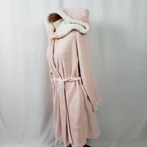 Ulta Wrap Short Hooded Bath Spa Robe Women's S/M